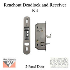 Andersen Reachout Deadlock and Receiver Assembly Kit - 2 Panel Frenchwood
