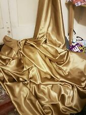 2M Antiqe gold SATIN FABRIC  BACK CREPE 58 iches WIDE