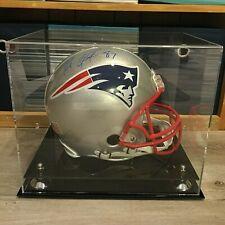 Rob Gronkowski Signed Auto NE Patriots Authentic Helmet + Display Case -Steiner