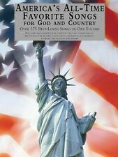 America's All-Time Favorite Songs for God and Country Sheet Music 014001791