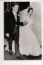 Vintage Postcard Princess Margaret, Countess of Snowdon & Husband
