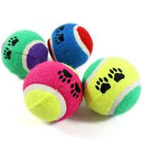 New Pet Supplies Dog Chew Toys Ball Tennis Throw Playing Training Diameter 6.5cm