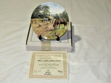 Royal Doulton Limited Ed Collectors Plate All Is Safely Gathered In Free UK P&P