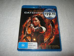The Hunger Games: Catching Fire - Blu-Ray Ex-Rental - Region B