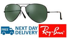 Authentic Ray-Ban Sunglasses Aviator 3025 L2823 Black Green Medium 58mm