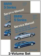 BMW 5 SERIES E60 525i 528i 530i 535i 545i 550i xi Owners Service Manual Handbook