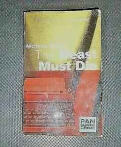 The Beast Must Die ~, Nicholas Blake Pan Classic Crime #3 Set in 1930s England