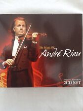THE MAGIC OF ANDRE RIEU  2CD Set  Two discs of glorious music  NEW