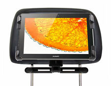Car Tablet Holder & Mount For Huawei Media Pad 10 FHD w/ Strong Headrest Support