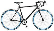 Viking Soho 56cm Drop Bar Fixie Fixed Gear Bike schwarz