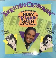 Huey Piano Smith Serious Clownin The Clowns Sealed Lp 1986 Rhino Records R&B