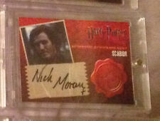 Harry Potter DH Scabior Nick Moran Autograph Auto Trading Card Deathly Hallows