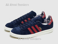 """ADIDAS Campus """"Blue Red"""" Trainers All Size Limited Stock"""