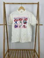 VTG 90s Beauticians Are Special Short Sleeve White/Cream T-Shirt Size L
