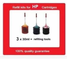 A Set Of Refill Kits For HP905 & HP905XL Cyan,Yellow,Magenta Ink Cartridges