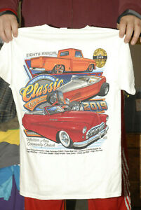WHITTIER POLICE CAR SHOW T SHIRT HOT ROD LOW RIDER CAR CULTURE LATINO 2019 SMALL