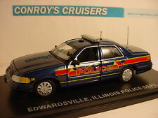 First Response Replicas Edwardsville, Illinois Police Ford Crown Victoria