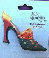 Just The Right Shoe - Passions Flame brooch (see my other items for 9 more)