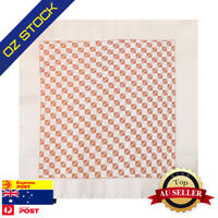 Beige Mens Party Pocket Square Set Brown Check Perfect Hanky Epoint EEHC0027