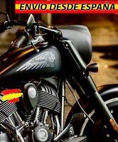 2x Vinilos Pegatinas Depósito Decal Moto Harley Davidson Indian Motorcycles