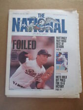THE NATIONAL SPORTS DAILY NEWSPAPER NOLAN RYAN LOSES BID FOR 300th WIN 7/26 1990