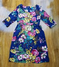 JOULES LADIES GORGEOUS FLORAL Leila Dress UK Size 12. RRP £59.95 BRAND NEW.