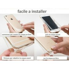 Coque Silicone Integrale TPU Full Protection 360 pour Apple Iphone 5C