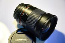 Samyang 24mm f1.4 AS UMC wide angle manual focus lens (Canon EF mount)
