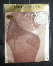 Martin Emprex vintage ladder-proof seamless sheer nylon stockings Oyster colour