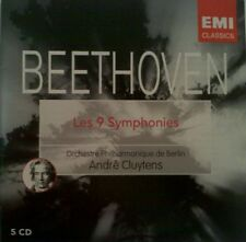 ANDRE CLUYTENS - BEETHOVEN (THE 9 SYMPHONIES - 5 DISC SET)