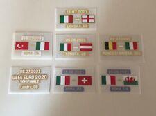 Patch toppa calcio Match Day Finale Euro 2020 No maglia Italy Italia Scritta