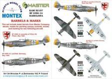Montex KAM 1:32 Bf-109 G-14 for Hasegawa Mask + Metal Part #KAM32107