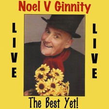Noel V Ginnity - Live (The Best Yet!) | NEW & SEALED CD (Irish Comedian)