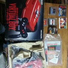 Virtual Boy Console System Japan Nintendo w/ 3 GAMES USED