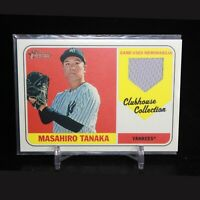 Masahiro Tanaka 2019 Topps Heritage Clubhouse Collection Relic Yankees