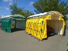 Temporary Portable Building Tent, Waterproof, Decontamination Structure Job Lot