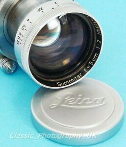 LEICA Summitar 1:2 f=5cm / 1950's Leitz SOORE Lens fit FRONT Lens Cap 41.5mm