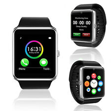 ON SALE! GSM Touch Screen Bluetooth Camera MP3 Wireless Watch Phone ~Unlocked!