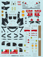 1/43 Tameo decal for Ferrari F138 China GP 2013 suitable for die cast or BBR