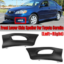 For Toyota Corolla 2005-08 Pair Front Bumper Body Kit Lower lip Factory S Style