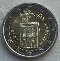 2 Euro Kursmünze San Marino 2013 unz