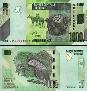 Congo 1000 Francs 2013, UNC, P-101b