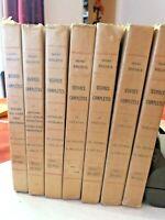 OEUVRES COMPLÈTES : HENRY BECQUE - 7 TOMES - 1924 - TIRAGE LIMITÉ