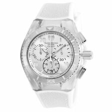 TechnoMarine Cruise Tm-115009 Mens Silver Dial Watch With Silicone Strap
