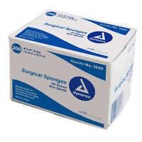 Dynarex Caring Woven Non-Sterile Gauze Sponge 4x4-8ply 200/Box #3242 FREE SHIP