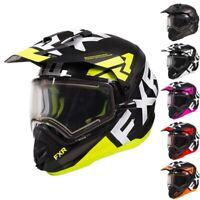 FXR Racing F20 Torque X Evo Electric Shield Mens Winter Snowmobile Helmets