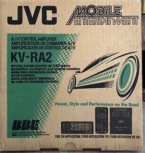 New Old School JVC KV-RA2 A/V Controller Amplifier,RARE,NOS,NIB, no remote