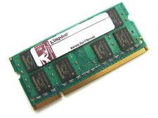 Kingston ASU256X64D2S800C6 2GB 2Rx8 200-Pin SODIMM PC2-6400S DDR2 Laptop Memory