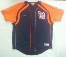 VINTAGE NIKE DETROIT TIGERS #7 IVAN RODRIGUEZ JERSEY IN SIZE L