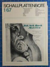 Schallplattenbote 1 67 E525